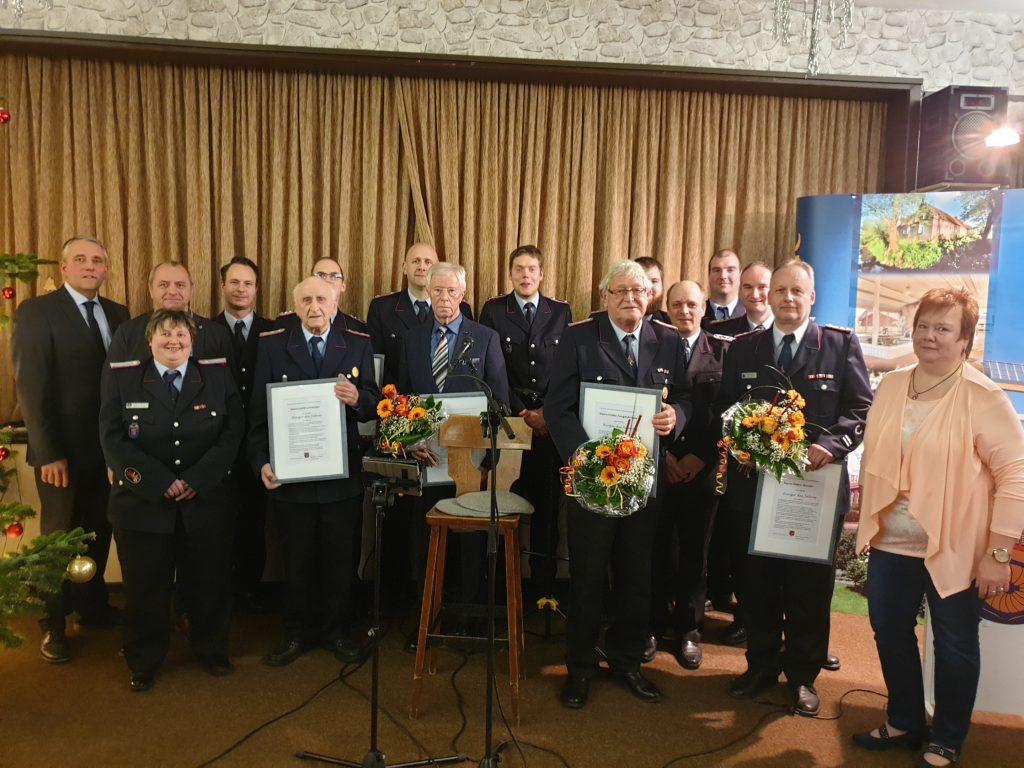 """Die Feuerwehr wurde Anfang des Jahres zum """"Bürger des Jahres"""" gekürt"""