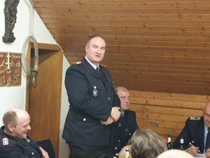 Sicherheitsbeauftragter Christian Sjuts hält seinen Bericht