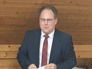 Ein Grußwort von Samtgemeinde-Bürgermeister Harald Hinrichs