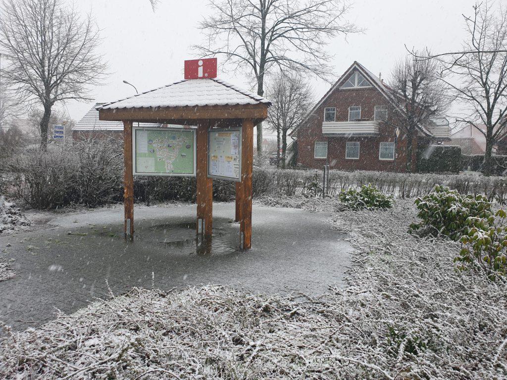 Schnee im Winter 2020