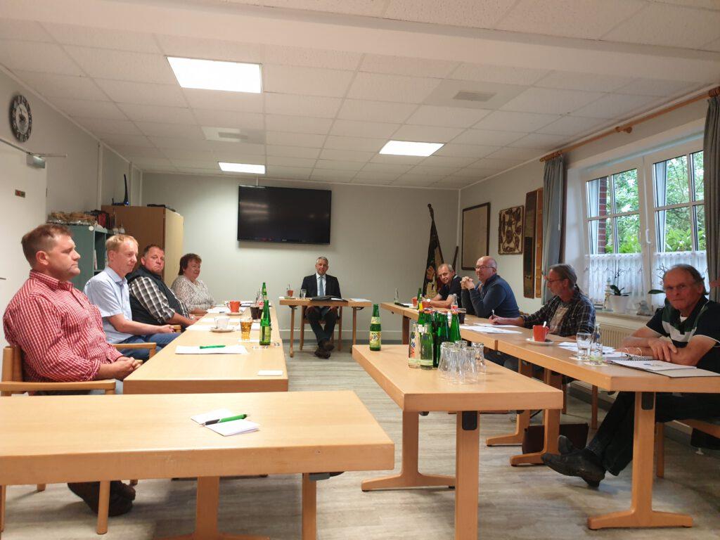 """Der Werdumer Gemeinderat verabschiedet den Haushalt 2020 in """"Corona-Abstand"""""""