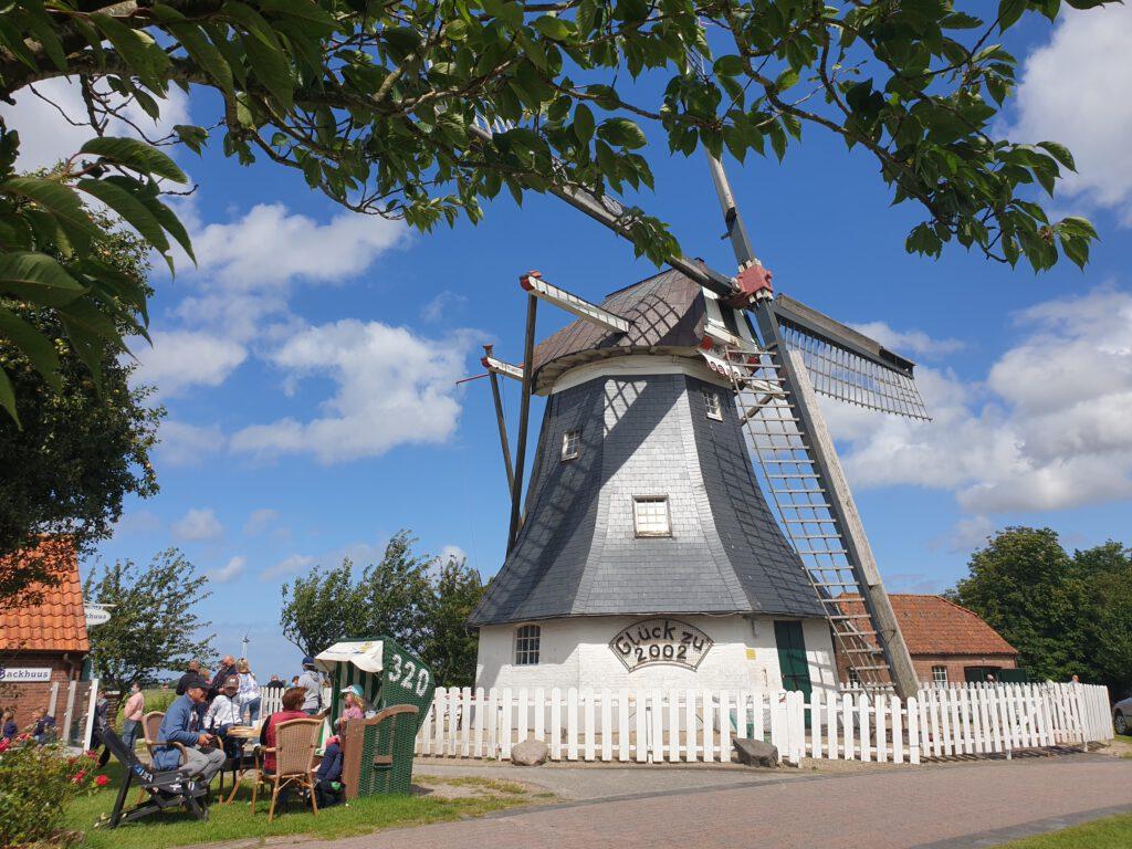 Auch zur denkmalgeschützten Mühle geht der Spaziergang durch Werdum