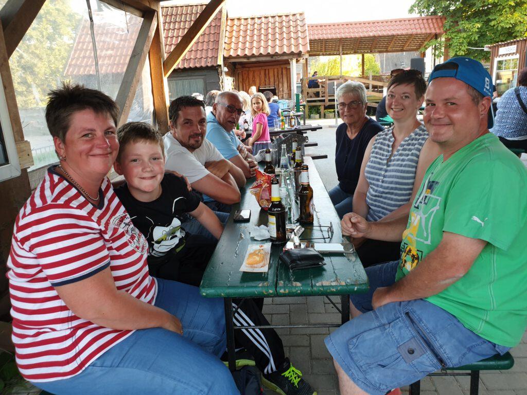 Familientreffen der Familie Lauer aus dem Saarland