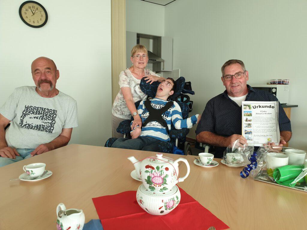 Die Familie Schulz wohnt urlaubt seit 10 Jahren bei Inge Schüler und Wolfgang Neukäter