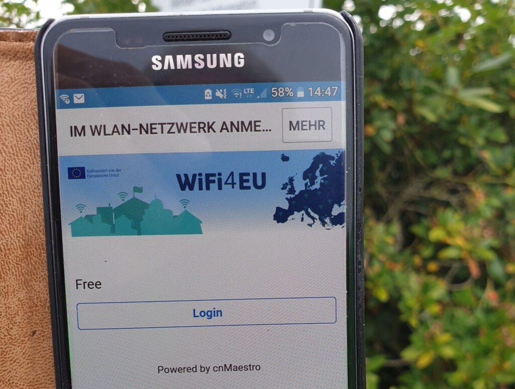 Wifi4EU ist in Werdum aktiviert