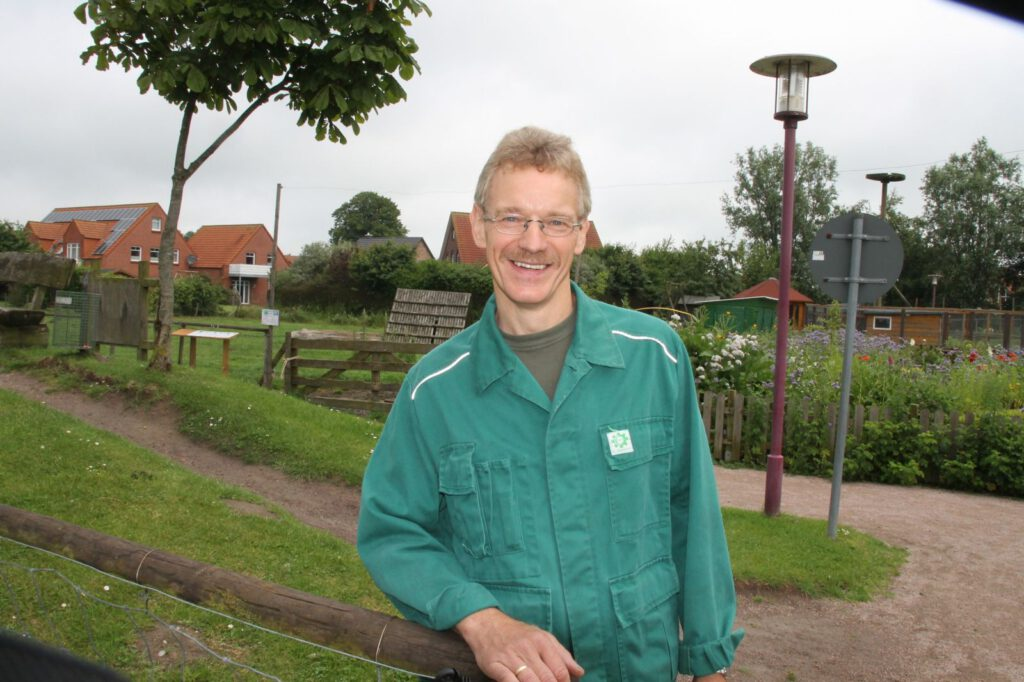 Heinz-Theo Emken ist in alter Frische wieder mit an Bord im Haustierpark-Team