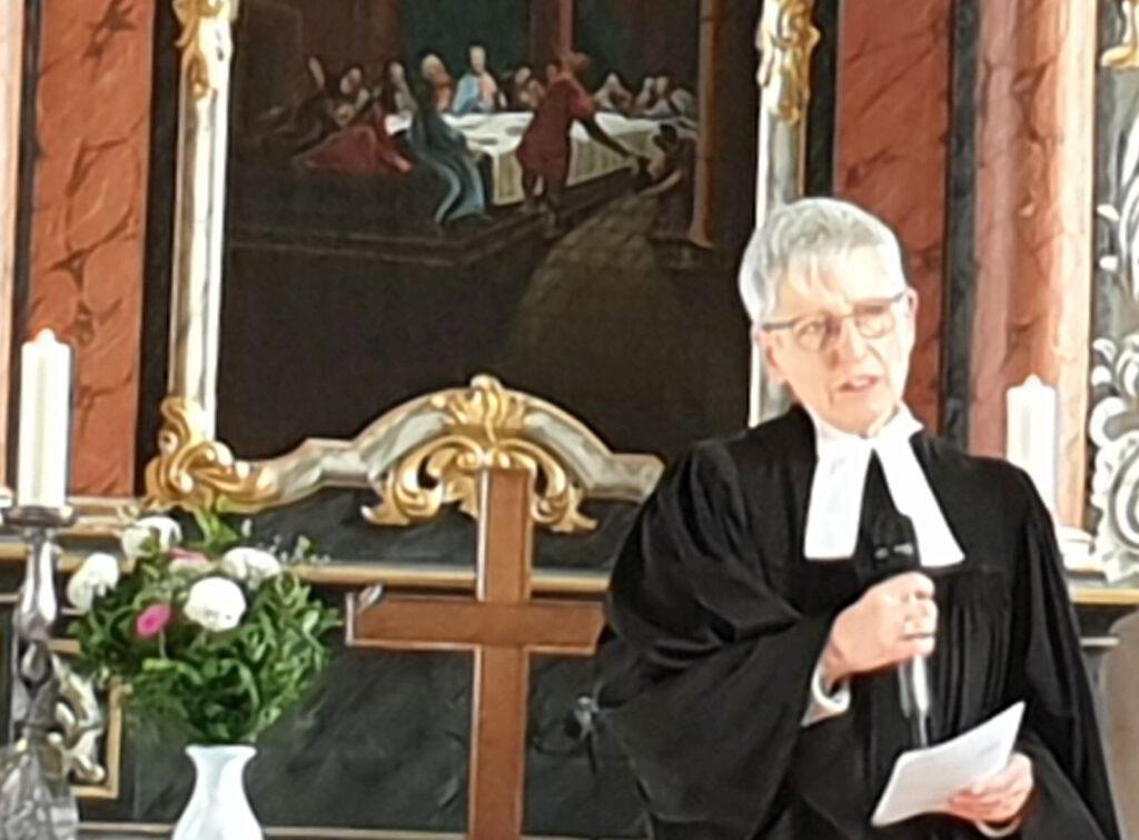 Die letzte Predikt als Werdumer Pastorin