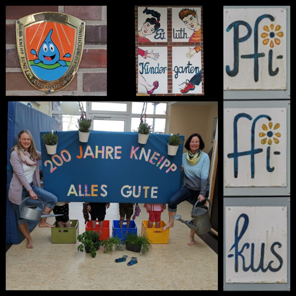 """Der Kindergarten """"Pfiffikus"""" gratuliert mit dieser Collage zum 200. Geburtstag"""