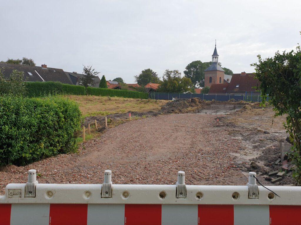 Am Westrand Werdums entsteht ein Wohnprojekt der Fa. Eschen