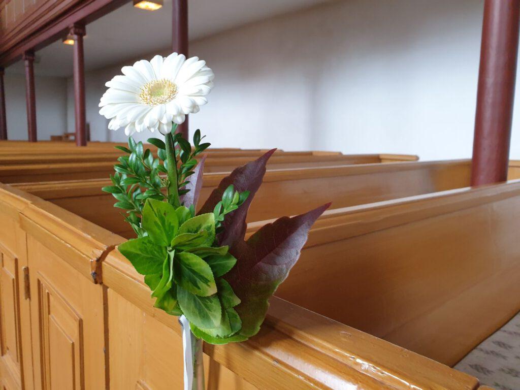 die St.-Nicolai-Kirche war festlich geschmückt