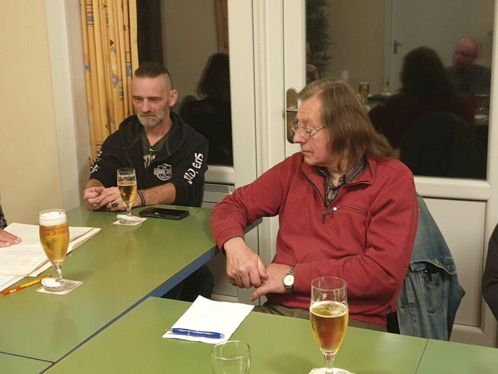 Reinhold Günther und Ahrend Eiben wurden als Stellvertretende Vorsitzende wieder gewählt